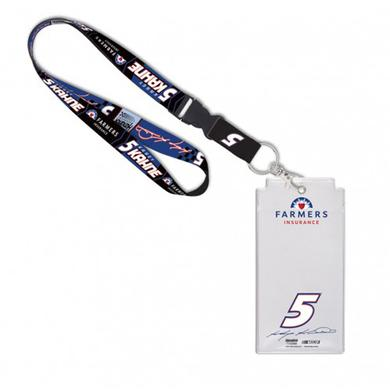 Hendrick Motorsports Kasey Kahne Credential Holder with Lanyard