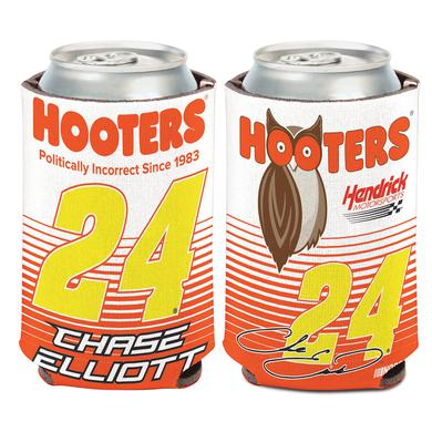 Hendrick Motorsports Chase Elliott #24 2017 Hooters Can Cooler - 12oz