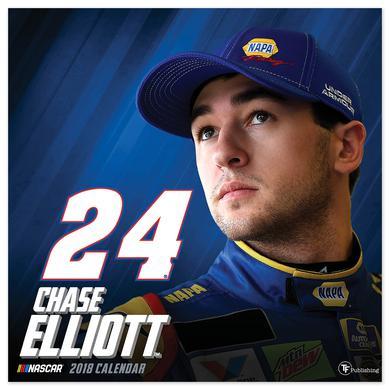 "Hendrick Motorsports Chase Elliott #24 2018 12""x 12"" Wall Calendar"