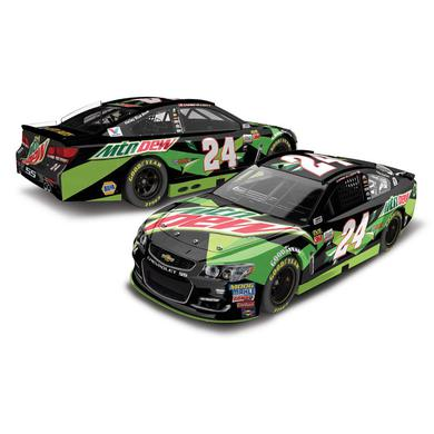Hendrick Motorsports Chase Elliott 2017 NASCAR Cup Series No. 24 All-Star Mtn Dew 1:64 Die-Cast