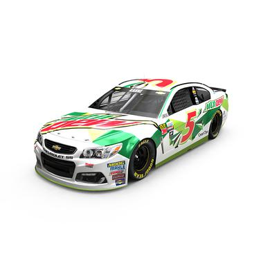Hendrick Motorsports Kasey Kahne 2017 NASCAR Cup Series No. 5 All-Star Mountain Dew 1:24 Die-Cast