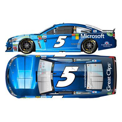 Hendrick Motorsports Kasey Kahne 2017 NASCAR Cup Series No. 5 Microsoft 1:24 Die-Cast