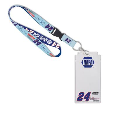 Hendrick Motorsports Chase Elliott 2017 #24 Darlington Lanyard with Credential Holder