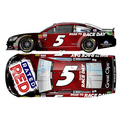Hendrick Motorsports Kasey Kahne 2017 NASCAR Cup Series No. 5  Rated Red 1:24 DC