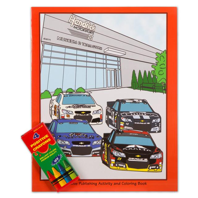 Hendrick Motorsports Activity Coloring Book