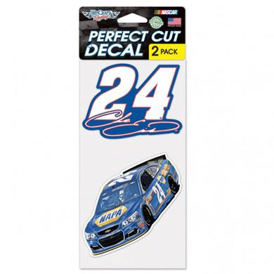 "Hendrick Motorsports Chase Elliott Perfect Cut Decal (set of 2) - 4"" x 4"""