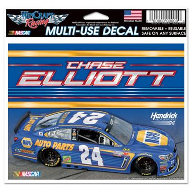 "Hendrick Motorsports Chase Elliott Multi-Use Colored Decal - 5"" x 6"""