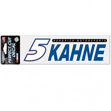 "Hendrick Motorsports Kasey Kahne Perfect Cut Decal - 3"" x 10"""