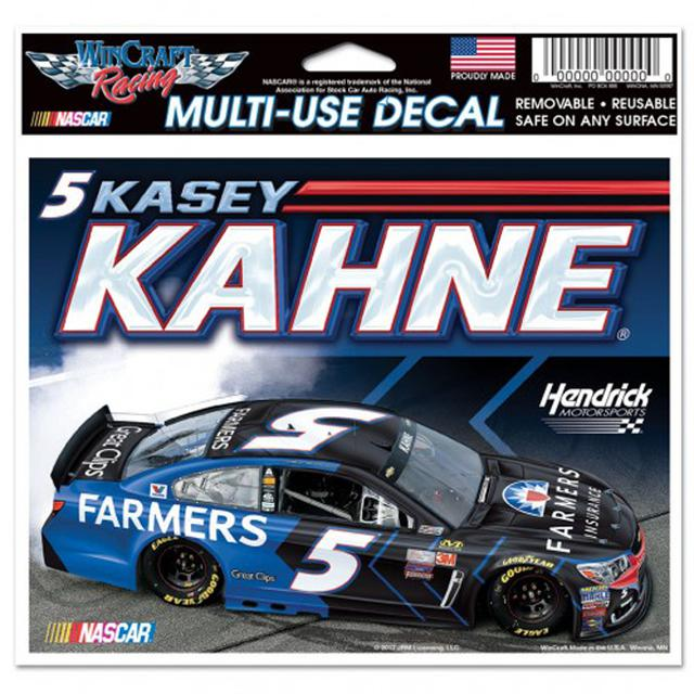 "Hendrick Motorsports Kasey Kahne Multi-Use Colored Decal - 5"" x 6"""