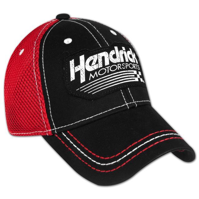 EXCLUSIVE Hendrick Motorsports Black/Red Mesh Cap