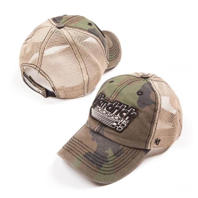 Hendrick Motorsports Exclusive Camo Mesh Hat '47 Brand