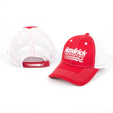 EXCLUSIVE Hendrick Motorsports Red/White Mesh Speedcap