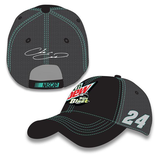 Hendrick Motorsports Chase Elliott #24 Mountain Dew Baja Blast Hat