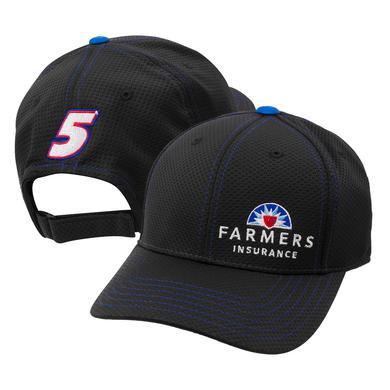 Hendrick Motorsports Kasey Kahne #5 Official 2017 Team Hat - Farmers Insurance