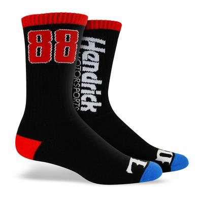 "Hendrick Motorsports Exclusive - #88 ""Wide Open"" Socks"