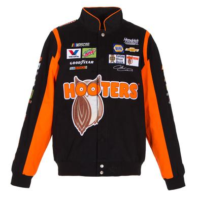 Hendrick Motorsports Chase Elliott #24 Hooters Cotton Twill Driver Jacket
