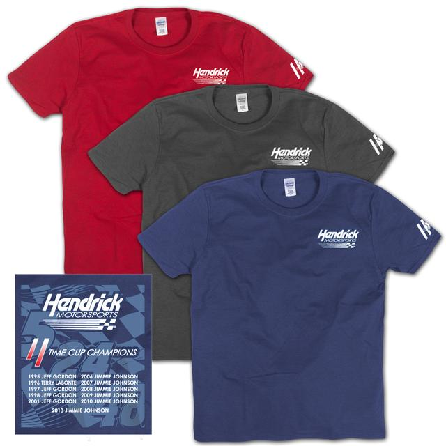 Hendrick Motorsports EXCLUSIVE 2013 Sprint Cup 11x Champion T-Shirt