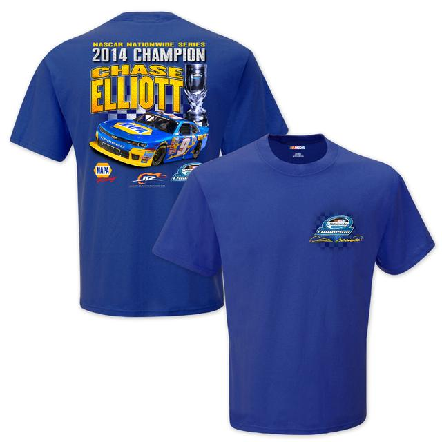 Hendrick Motorsports Chase Elliott #9 2014 Nascar Nationwide Series Champ Victory Lane Tee