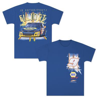 Hendrick Motorsports Chase Elliott #9 Lightning T-Shirt by CFS