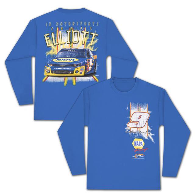 Hendrick Motorsports Chase Elliott #9 Lightning L/S T-Shirt by CFS