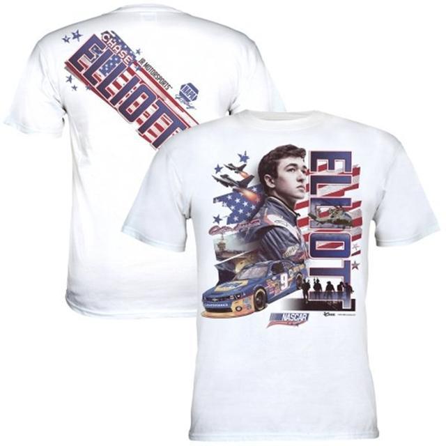 Hendrick Motorsports Chase Elliott American Salute T-Shirt