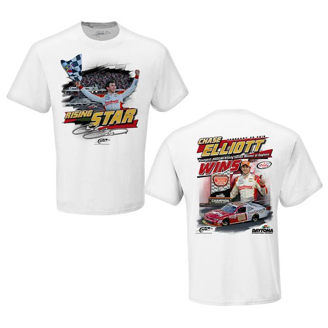 Hendrick Motorsports Chase Elliott #88 2016 XFINITY Daytona Winner T-shirt
