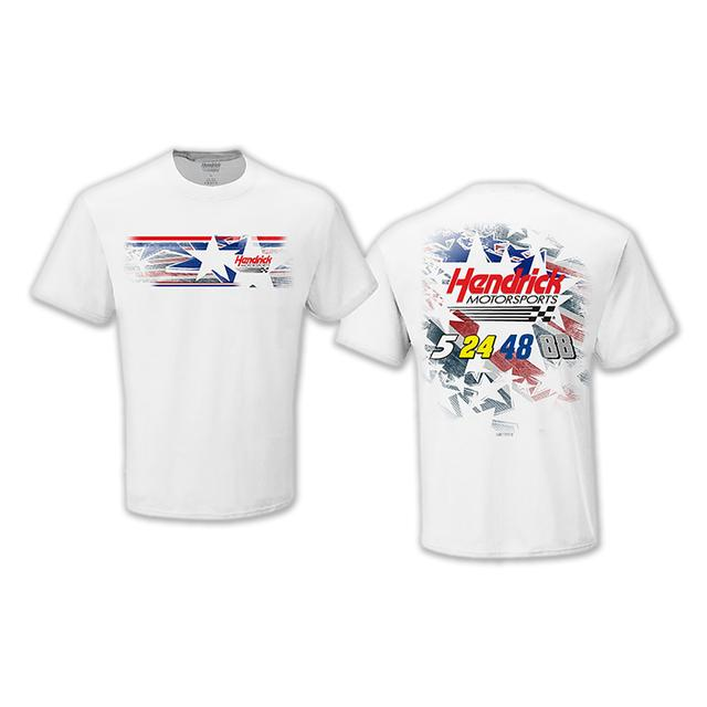 Hendrick Motorsports 2015 LTD Edition EXCLUSIVE Patriotic T-shirt