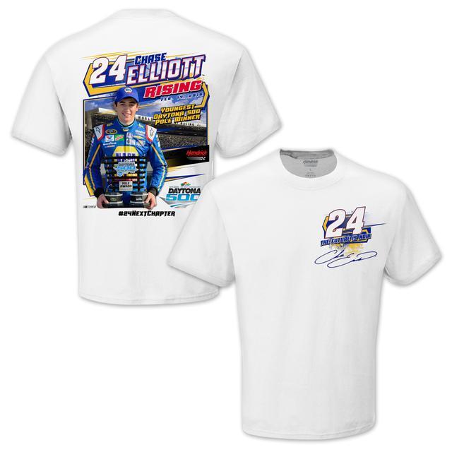 Hendrick Motorsports Chase Elliott #24 2016 Daytona 500 - Pole Award Winner T-shirt