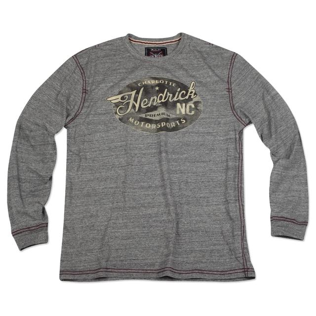Hendrick Motorsports Exclusive Vintage Oval L/S T-shirt