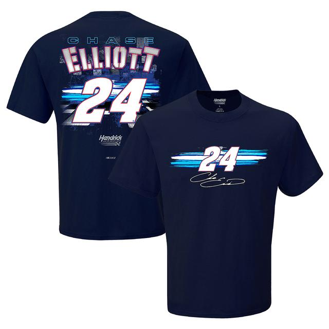 Hendrick Motorsports Chase Elliott #24 Adult Fan Up Tee