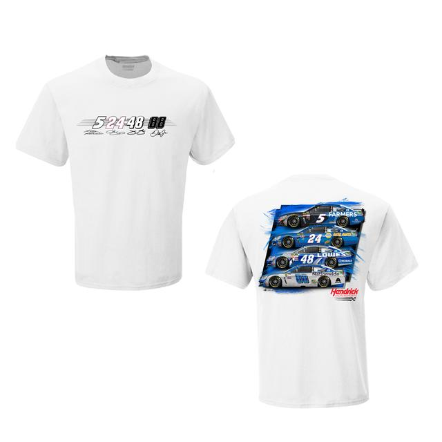 Hendrick Motorsports Team LTD Edition Exclusive 2016 Season Launch T-Shirt