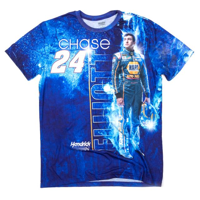 Hendrick Motorsports Chase Elliott #24 Turbo Sublimated T-Shirt