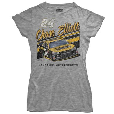 Hendrick Motorsports Chase Elliott #24 Ladies Darlington Retro Tee