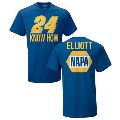 Hendrick Motorsports Chase Elliott #24 Napa Know How T-Shirt
