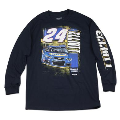 Hendrick Motorsports Chase Elliott Adult Ignition 2-spot L/S T-shirt - NAPA