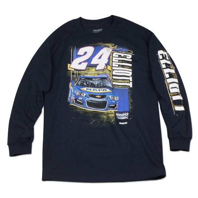 Hendrick Motorsports Chase Elliott Adult Ignition 2-spot L/S T-shirt - NAPA