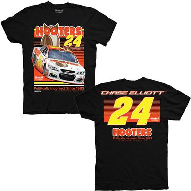 Hendrick Motorsports Chase Elliott Hooters Adult Spoiler T-shirt