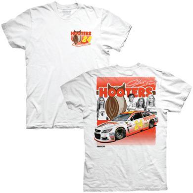 Hendrick Motorsports Chase Elliott Hooters Adult Racer T-shirt