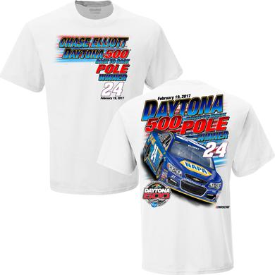Hendrick Motorsports Chase Elliott Daytona 500 Pole Win T-shirt