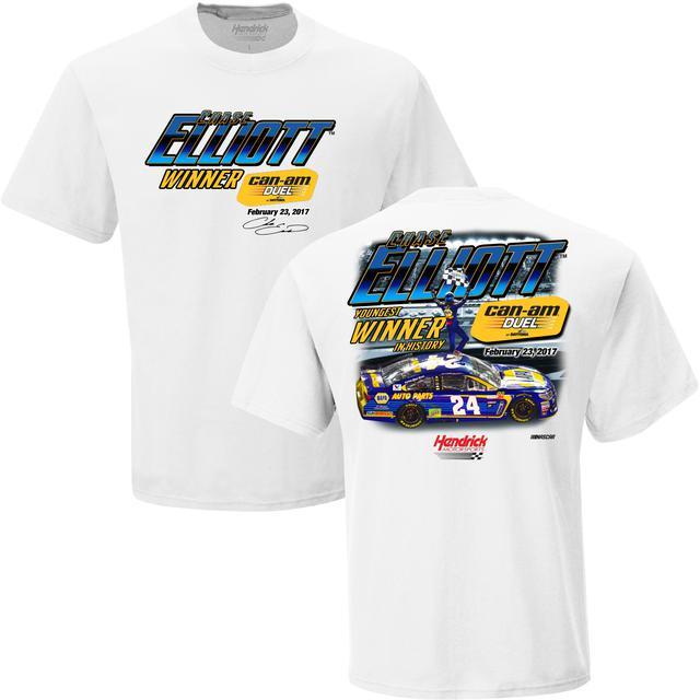 Hendrick Motorsports Chase Elliott First Cup Series Win T-shirt - 1 spot tee