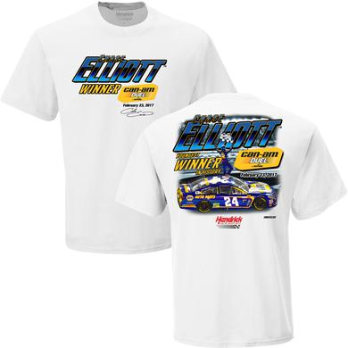 Hendrick Motorsports Chase Elliott 2017 Daytona Can-Am Duel #1 Win T-shirt