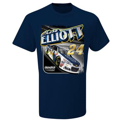 Hendrick Motorsports Chase Elliott #24 Kelley Blue Book T-shirt