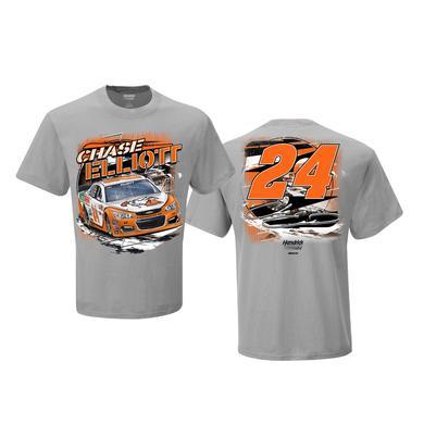 Hendrick Motorsports Chase Elliott #24 Mtn Dew Little Caesars Spoiler T-shirt