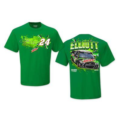 Hendrick Motorsports Chase Elliott #24 2017 Mountain Dew T-shirt