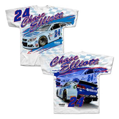 Hendrick Motorsports Chase Elliott 2017 #24 Darlington Total Print T-shirt