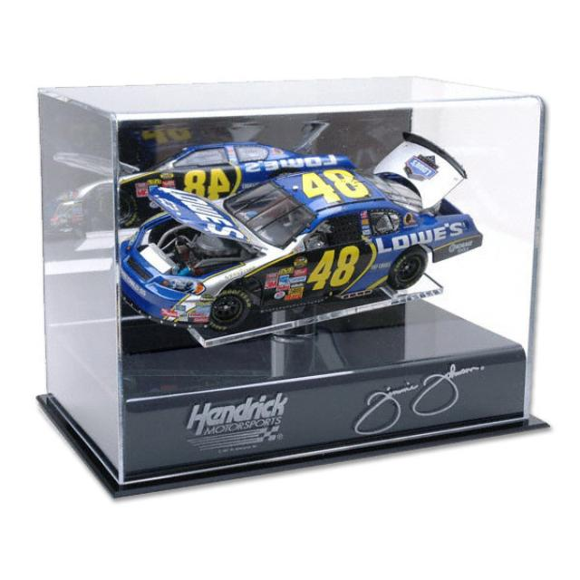 Hendrick Motorsports Jimmie Johnson Diecast Display Case w/ Platform