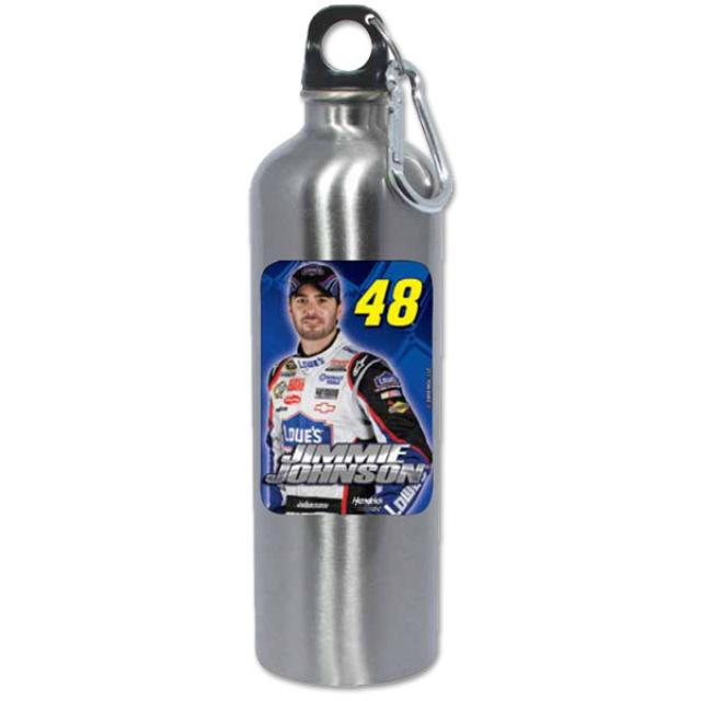 Hendrick Motorsports Jimmie Johnson #48 Stainless Steel 25oz Water Bottle