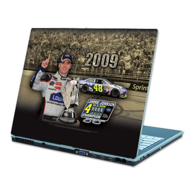 "Hendrick Motorsports Jimmie Johnson #48 Sprint Cup Champ ""4 in a Row"" Laptop Skin"