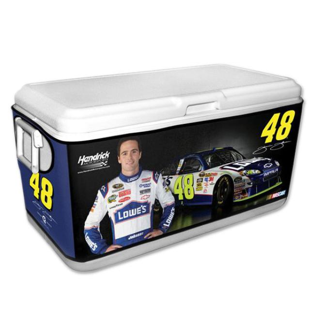 Hendrick Motorsports Jimmie Johnson #48 Medium 50-80 Quart Cooler Coozie