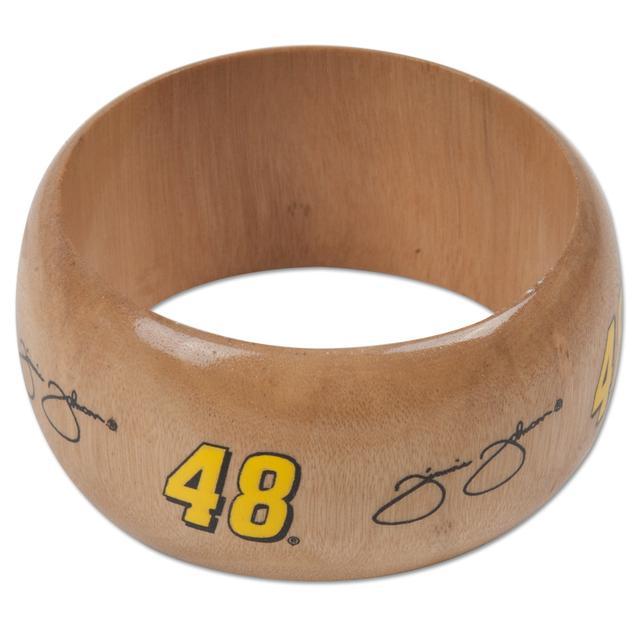 Hendrick Motorsports Jimmie Johnson #48 Light Wood Bangle Bracelet